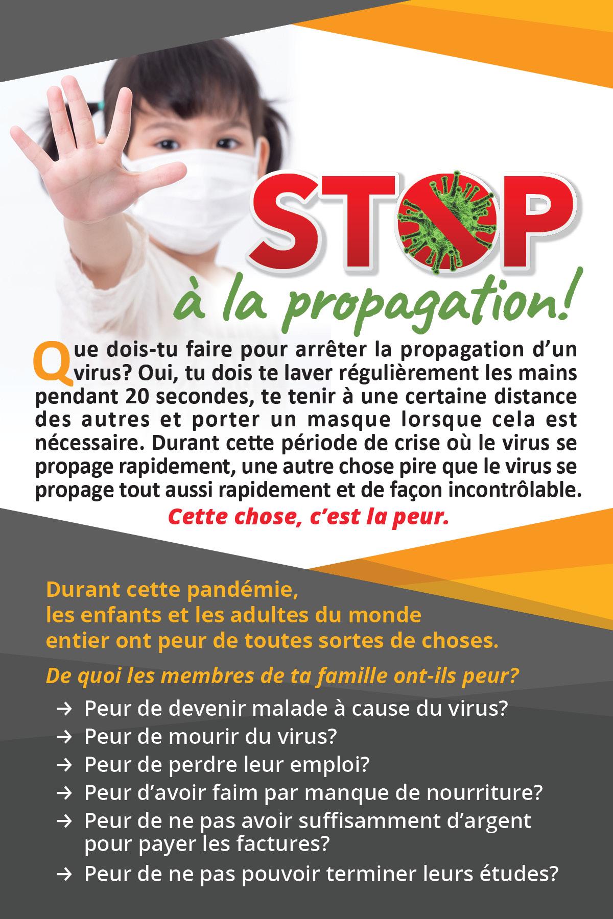 STOP à la propagation
