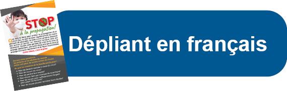 Dépliant en français