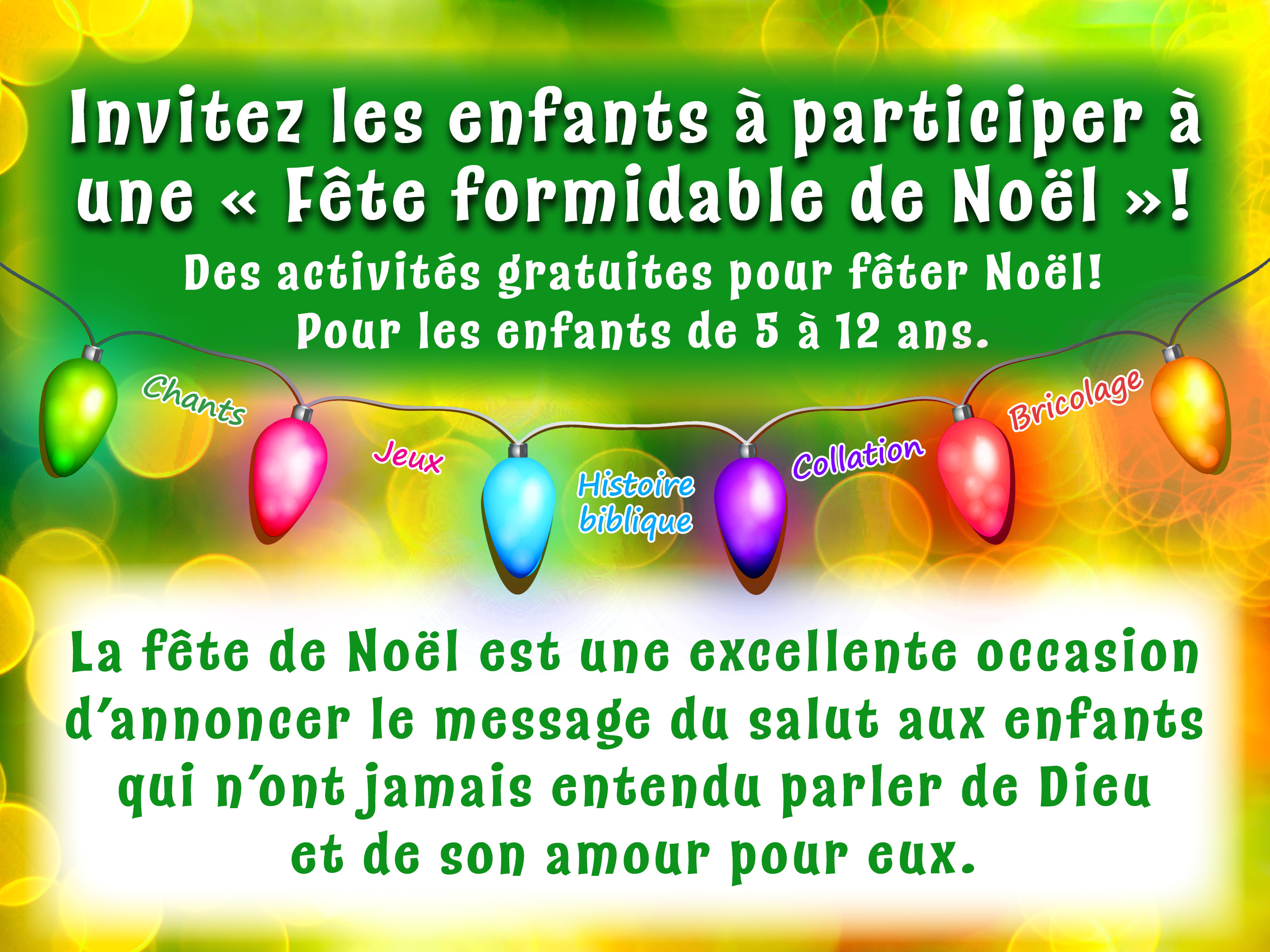 Fete formidable de Noel