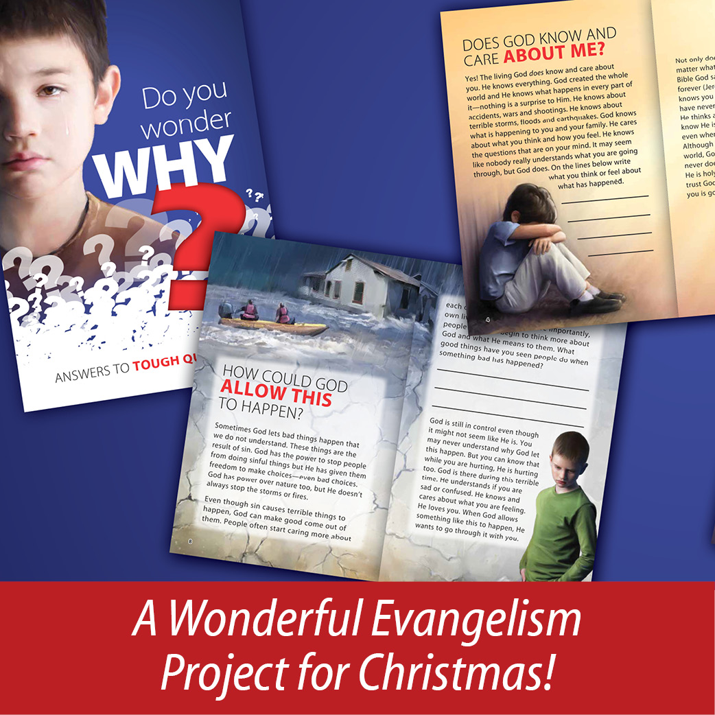 A Wonderful Evangelism Project for Christmas
