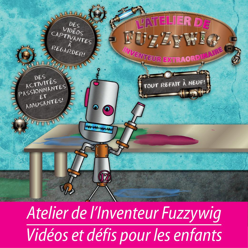 Atelier de l'Inventeur Fuzzywig