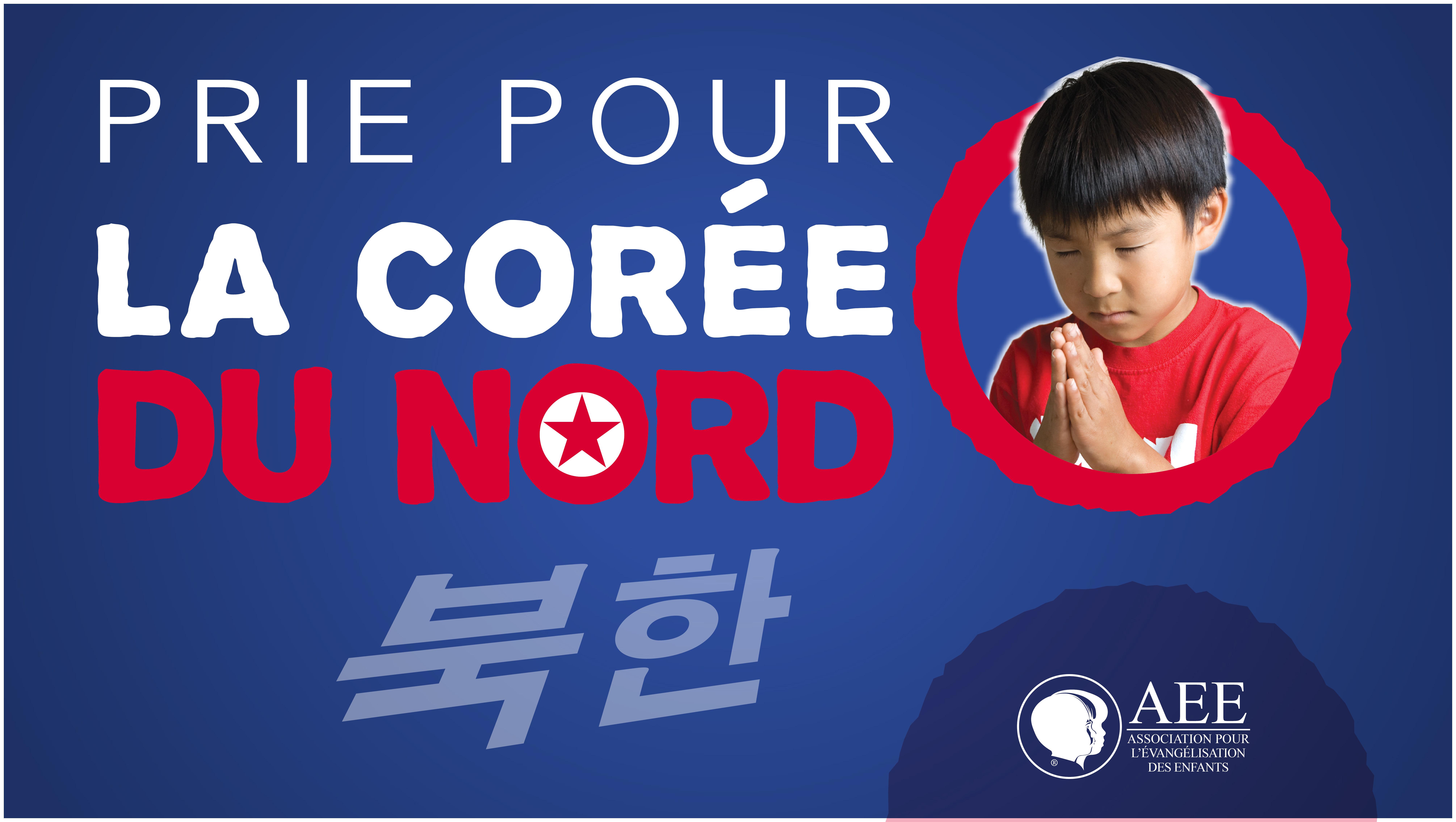 Prier pour la Coree du Nord