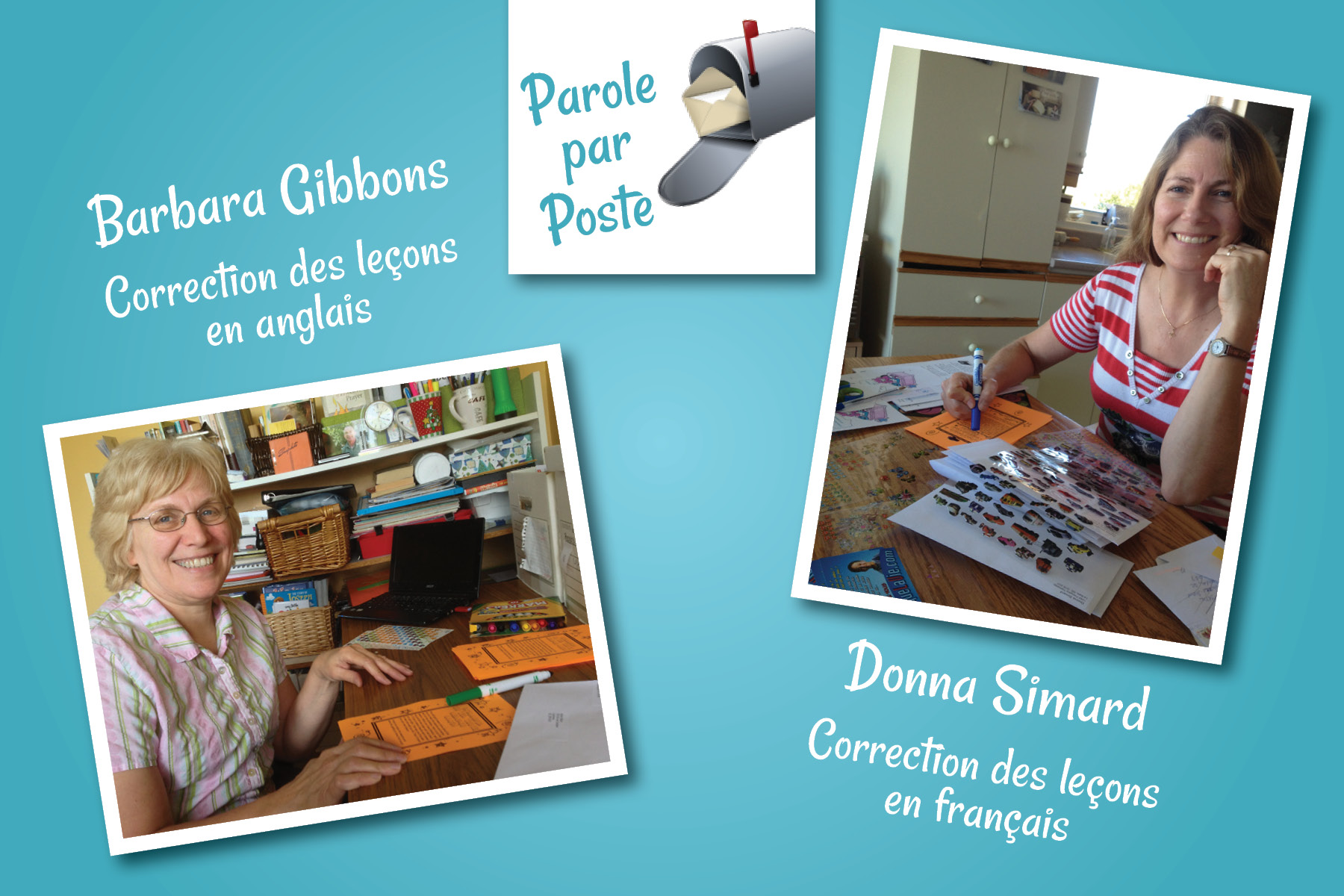 Barbara Gibbons and Donna Simard