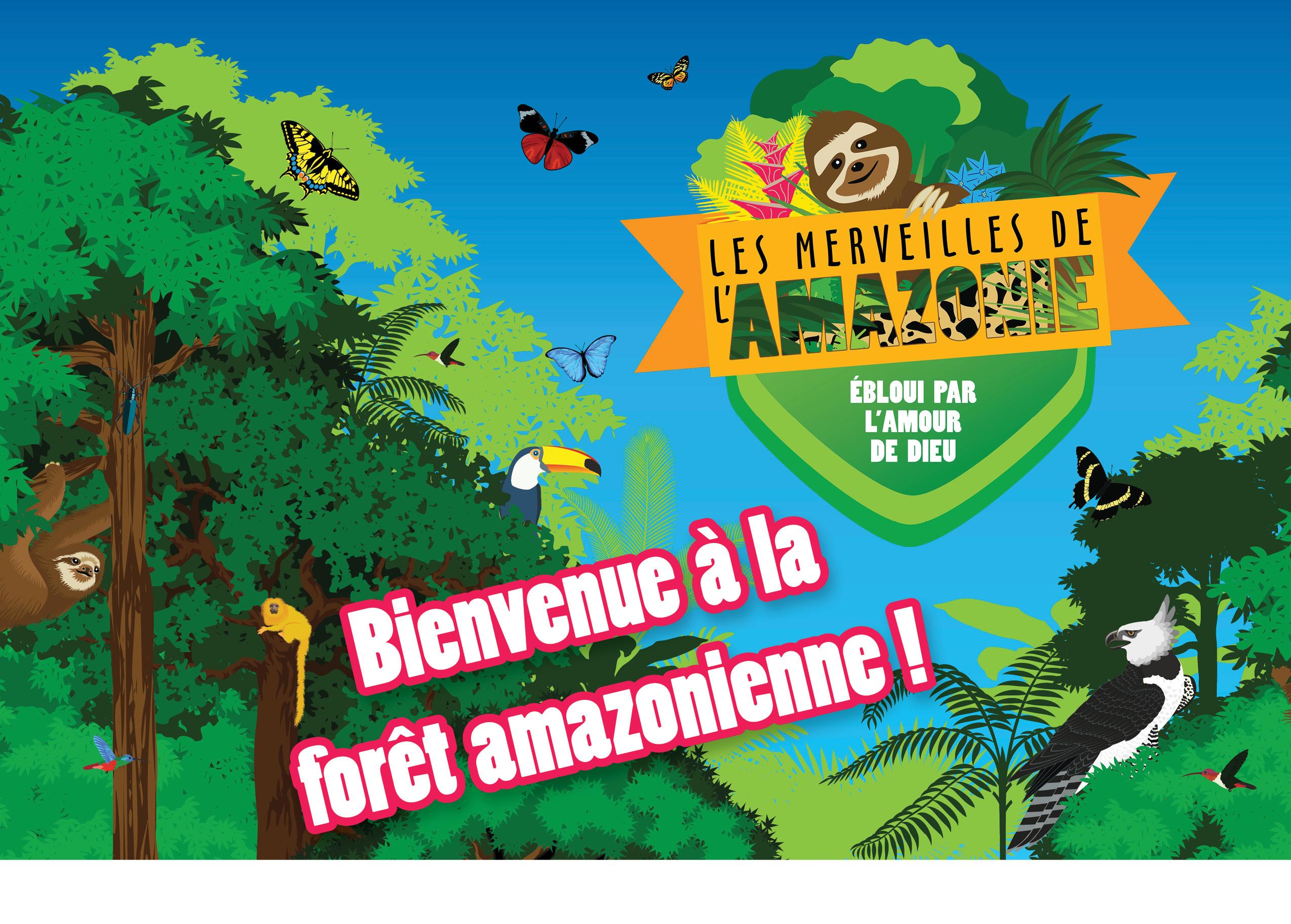 Bienvenue à la région amazonienne!