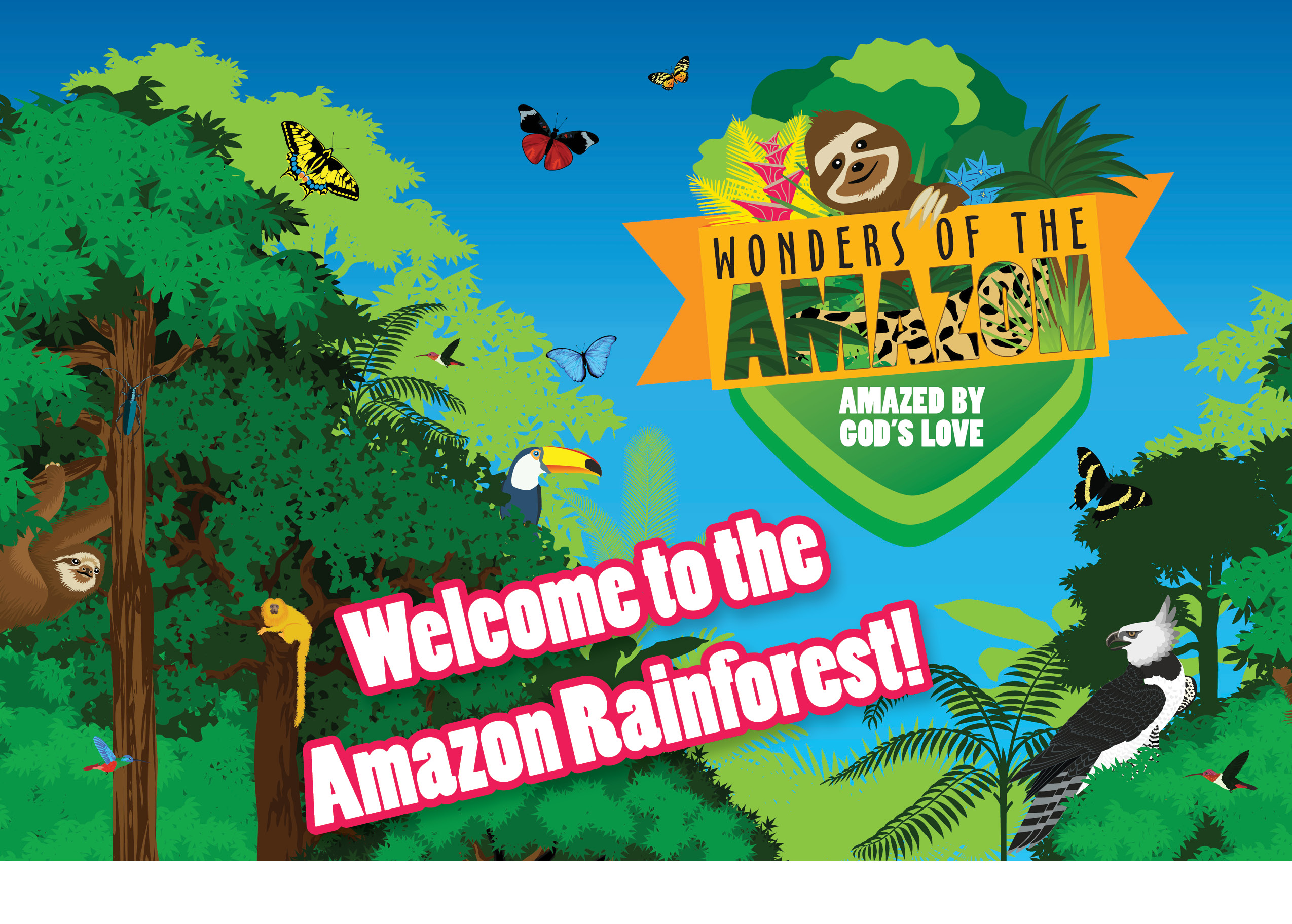 Welcome to the Amazon!